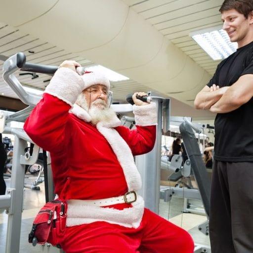 Gym in December